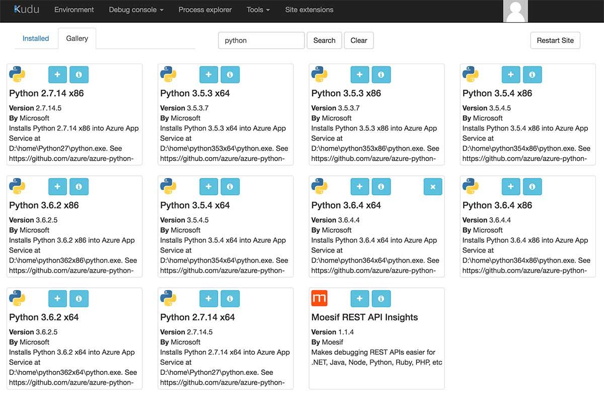 Phooky COM - Deploy Your Django Azure Web App with Python 3 6